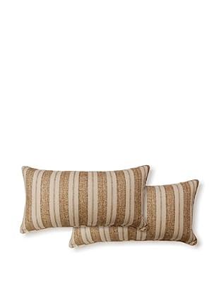 Dakota Set of 2 Borderline Pillows (Flax)