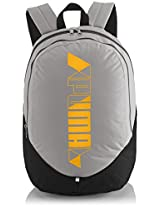 Puma Polyester Grey Casual Backpack (7257602)