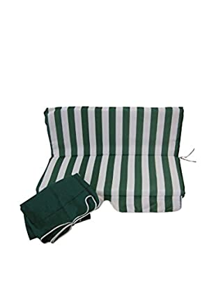 CARLO GUIDETTI Cojín Blanco/Verde
