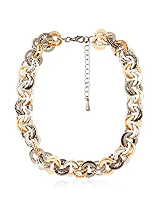 Biplat Halskette 2192 zweifarbig