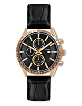 Giordano Analog Black Dial Men's Watch - GX1577-09