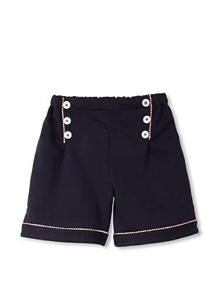 Rachel Riley Girl's Jersey Sailor Shorts