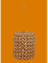 PINDIA HOME DECOR CRYSTAL HANGING T-LITE CANDLE HOLDER STAND