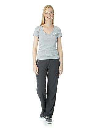 ESPRIT SPORTS Damen Hose Normaler Bund (Grau)