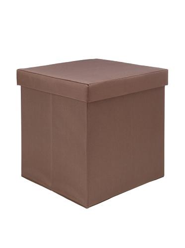 Creative Bath Fold-N-Store Ottoman (Brown)