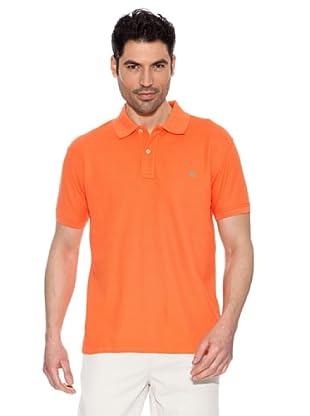 Pedro del Hierro Polo Básico (Naranja)