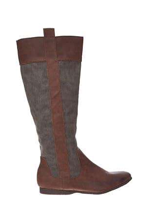 Springfield Bota Alta Montar (marrón)