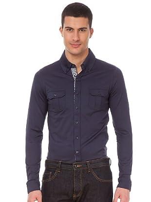 Armand Basi Camisa (azul marino)