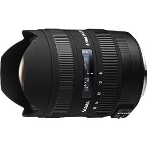【クリックで詳細表示】SIGMA 超広角ズームレンズ 8-16mm F4.5-5.6 DC HSM シグマ用 APS-C専用 203566: カメラ