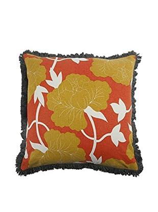 Thomas Paul Roses Pillow, Saffron