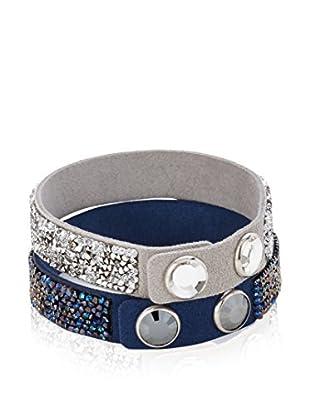 Swarovski Armband-Set  blau