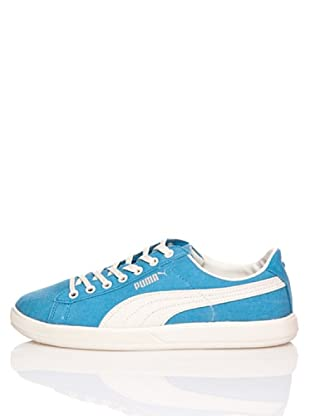 Puma Zapatillas Archive Lite Lo Washed Canvas (Azul Mar / Blanco)