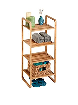Honey-Can-Do 4-Tier Bamboo Accessory Shelf