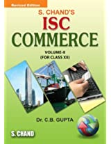 S. Chand's ISC Commerce for Class 11, Vol. 1