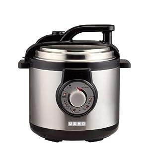 Usha 3250 Electric Pressure Cooker-Black