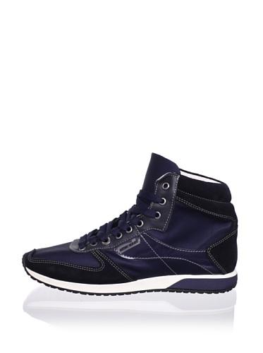 Antony Morato Men's High Top Sneaker (Blue)