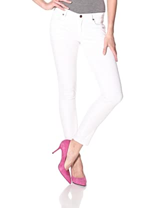 Rockstar Denim Women's Skinny Jean (White)