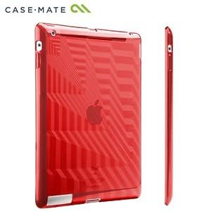 【クリックで詳細表示】Case-Mate iPad 2 Gelli Case Architecture, Red ジェリーケース レッド CM013590