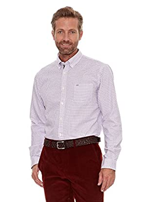 Cortefiel Camisa Tattershall (Rojo)
