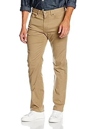 Dockers Pantalone New 5 Pocket Straight Coastal Sage Twill