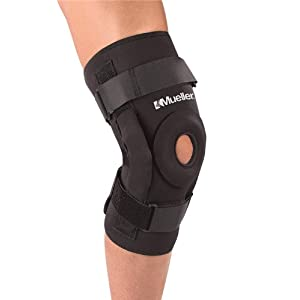 Mueller Hinged Knee Brace Deluxe, Large, 1-Count Package
