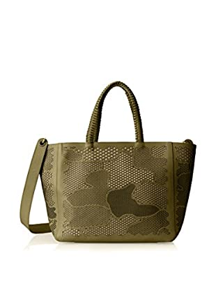 Nada Sawaya Women's Retto Cross-Body Tote, Olive