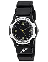 Sonata Analog Black Dial Men's Watch - NF7921PP12J