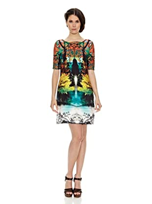 Janis Vestido Estampado (Multicolor)