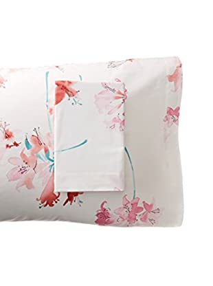 Anne de Solène Balade Tzigane Pillowcases (White)