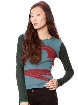 Custo Camiseta Cruncs (Multicolor)