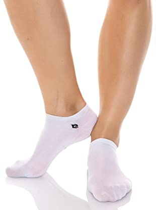 Pierre Cardin Pack 3 Pares Calcetines Tobilleros (Blanco)
