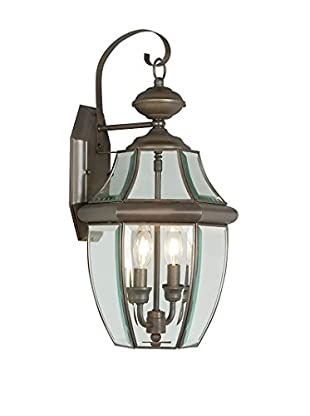 Crestwood Marigold 2-Light Wall Lantern, Bronze