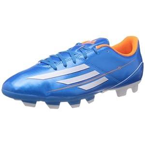 Adidas Men's F5 Trx Fg Solblu, Run White and Solzes Football Boots - 8 UK