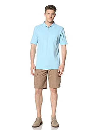 Cutter and Buck Men's Rainy Day Pique Polo (Oxford)