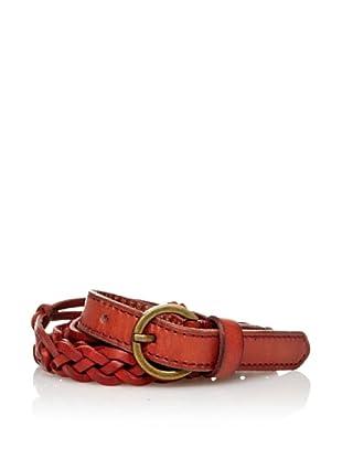 Sándalo Cinturón Nudos (Rojo)