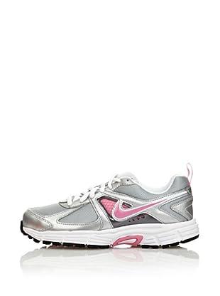 Nike Zapatillas Dart 9 (Gs / Ps) (Gris / Blanco / Rosa)