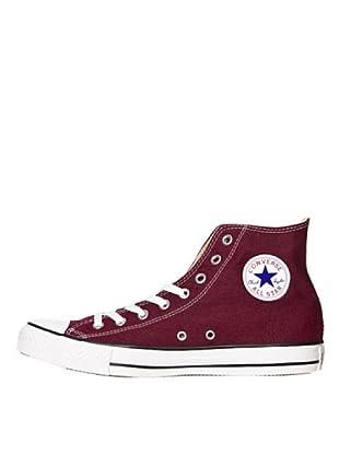 Converse Chuck Taylor All Star Core Hi - Botines de lona unisex (Rojo)