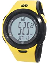 "Soleus Men's SR010901 ""Ultra Sole"" Digital Watch with Yellow Band"