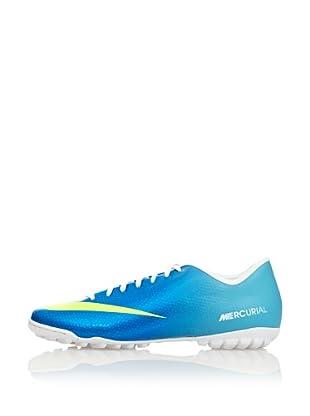 Nike Botas Fútbol Mercurial Victory Iv Tf (Turquesa)