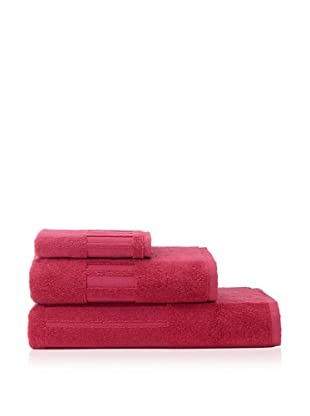 Garnier-Thiebaut 3-Piece Bath Towel Set (Framboise)