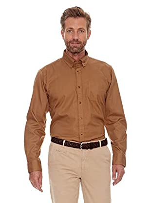 Cortefiel Camisa Liso (Beige)