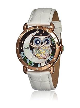 Bertha Uhr mit Japanischem Quarzuhrwerk Ashley weiß 41 mm