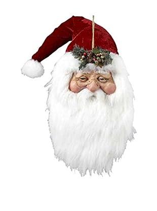 Kurt Adler Jacqueline Kent Santa Head Ornament
