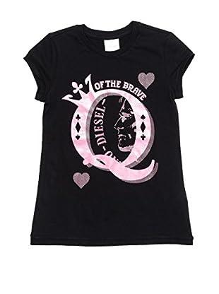 Diesel Camiseta Trofyt (Negro)