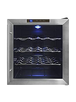 Vinotemp 16-Bottle Thermoelectric Wine Cooler, Stainless Steel/Chrome