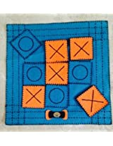 Cute Jute Cute Cross & Nuts Mat With Coasters