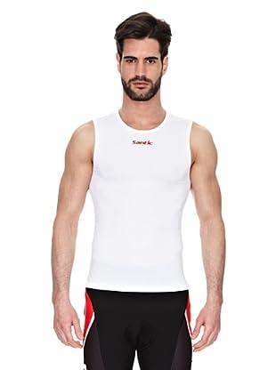 Santic Camiseta Unisex (Blanco)