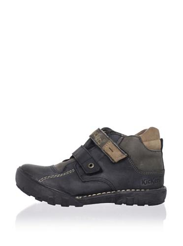 Kickers Kid's Rango High Sneaker (Toddler/Little Kid) (Black)