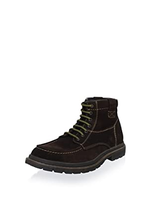 Robert Wayne Men's Newman Lug Boot (Brown)