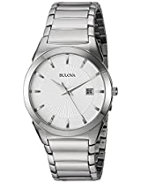 Bulova Classic Analog Silver Dial Men's Watch - 96B015